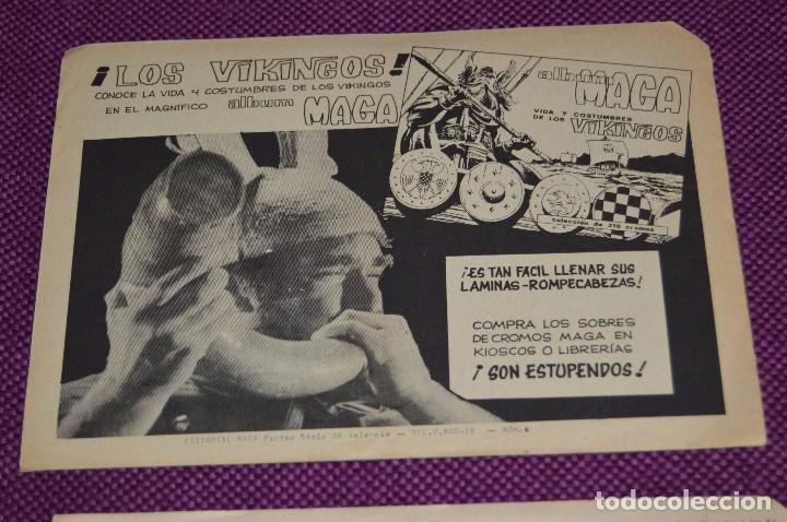 Tebeos: LOTE DE 2 NÚMEROS - EL ACROBATA TERREMOTO - EDITORIAL MAGA - ANTIGUO Y ORIGINAL - HAZME UNA OFERTA - Foto 5 - 90825440