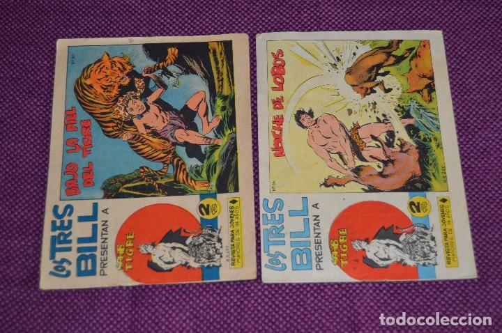 Tebeos: LOTE DE 5 NÚMEROS - SAHIB TIGRE - EDITORIAL MAGA - ANTIGUO Y ORIGINAL - HAZME UNA OFERTA - Foto 3 - 90825940