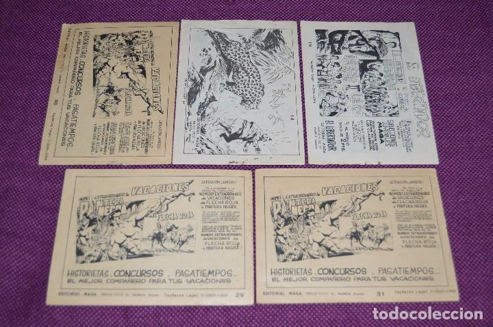 Tebeos: LOTE DE 5 NÚMEROS - SAHIB TIGRE - EDITORIAL MAGA - ANTIGUO Y ORIGINAL - HAZME UNA OFERTA - Foto 5 - 90825940
