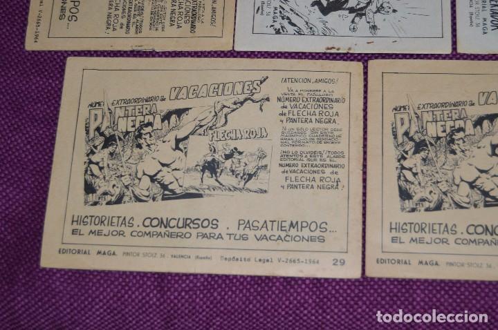 Tebeos: LOTE DE 5 NÚMEROS - SAHIB TIGRE - EDITORIAL MAGA - ANTIGUO Y ORIGINAL - HAZME UNA OFERTA - Foto 7 - 90825940