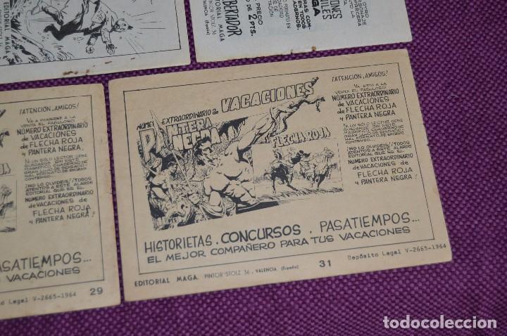 Tebeos: LOTE DE 5 NÚMEROS - SAHIB TIGRE - EDITORIAL MAGA - ANTIGUO Y ORIGINAL - HAZME UNA OFERTA - Foto 8 - 90825940
