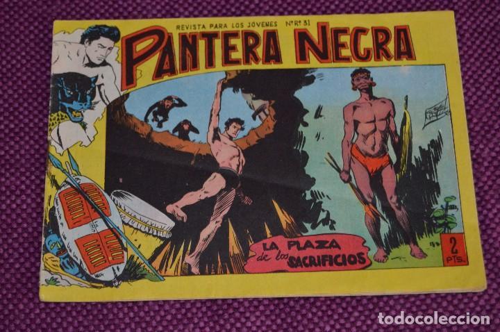 Tebeos: LOTE DE 2 NÚMEROS - PANTERA NEGRA - EDITORIAL MAGA - ANTIGUO Y ORIGINAL - HAZME UNA OFERTA - Foto 2 - 90826320