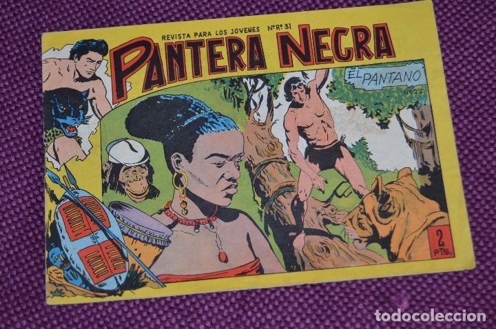 Tebeos: LOTE DE 2 NÚMEROS - PANTERA NEGRA - EDITORIAL MAGA - ANTIGUO Y ORIGINAL - HAZME UNA OFERTA - Foto 3 - 90826320