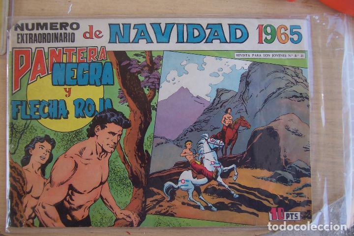 Tebeos: maga. pantera negra la - la columna vertebral de una editorial-lote 440 ejemplares - Foto 22 - 35228471