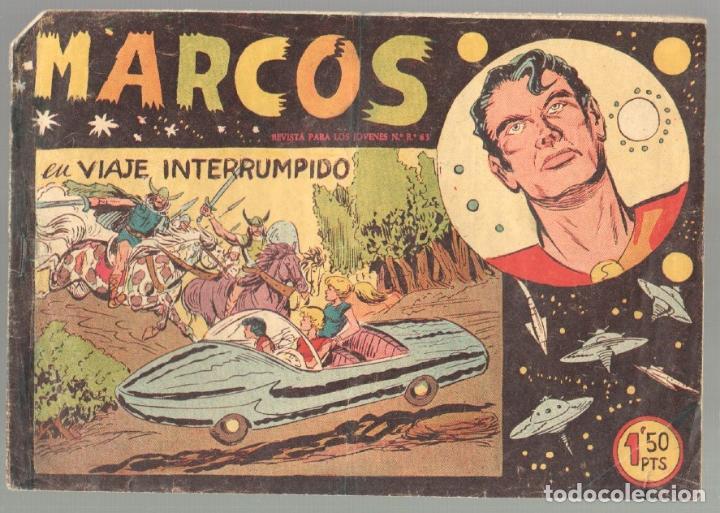 Tebeos: MARCOS ORIGINALES EDI. MAGA 1958 - LOTE 7 NºS - 4 Nºs SIN CIRCULAR NI ABRIR, RESTO MUY BIEN - Foto 12 - 54597760