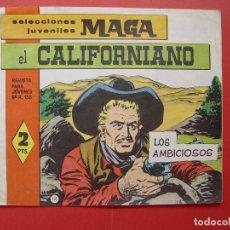 Tebeos: REVISTA EL CALIFORNIANO (Nº 42) (MAGA-1965) ¡ORIGINAL! ¡COLECCIONISTA!. Lote 92724195