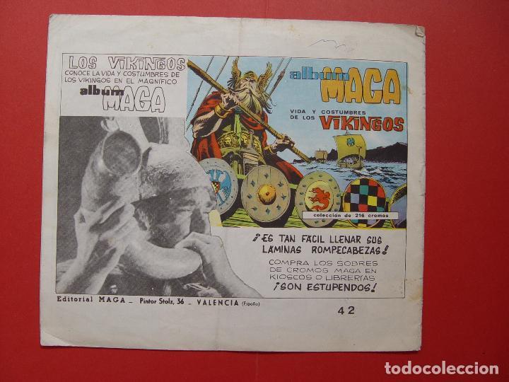 Tebeos: Revista EL CALIFORNIANO (nº 42) (Maga-1965) ¡ORIGINAL! ¡COLECCIONISTA! - Foto 2 - 92724195