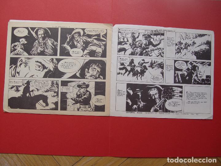 Tebeos: Revista EL CALIFORNIANO (nº 42) (Maga-1965) ¡ORIGINAL! ¡COLECCIONISTA! - Foto 4 - 92724195