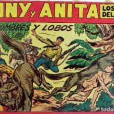 Giornalini: L-1753. TONY Y ANITA LOS ASES DEL CIRCO. HOMBRES Y LOBOS. Nº 137. EDITORIAL MAGA. VALENCIA.. Lote 92744645