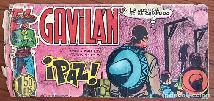 EL GAVILÁN NÚM. 25 ÚLTIMO NÚMERO (Tebeos y Comics - Maga - Otros)