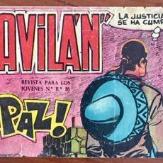 Tebeos: EL GAVILÁN NÚM. 25 ÚLTIMO NÚMERO. Lote 93685992