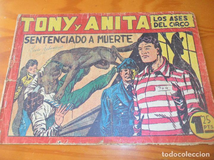 TONY Y ANITA, LOS ASES DEL CIRCO Nº 51 - EDITORIAL MAGA - ORIGINAL (Tebeos y Comics - Maga - Tony y Anita)