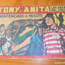 Livros de Banda Desenhada: TONY Y ANITA, LOS ASES DEL CIRCO Nº 51 - EDITORIAL MAGA - ORIGINAL. Lote 93742745