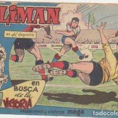 Tebeos: OLIMAN Nº 36. MAGA 1960. HÉRCULES CLUB DE FUTBOL, DE ALICANTE.. Lote 94338666
