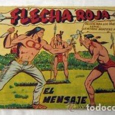 Tebeos: FLECHA ROJA, AÑO 1962 LOTE 64. TEBEOS SON ORIGINALES LE FALTAN 15 TEBEOS PARA COMPLETAR LA COLECCIÓN. Lote 94632535