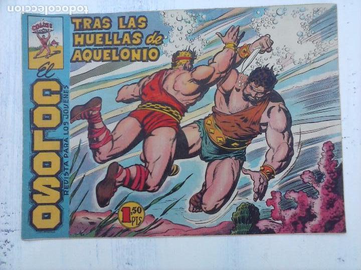 Tebeos: EL COLOSO DE RODAS ORIGINAL COMPLETA, LÓPEZ BLANCO DIBUJOS - VER TODAS LAS PORTADAS - Foto 55 - 94713939