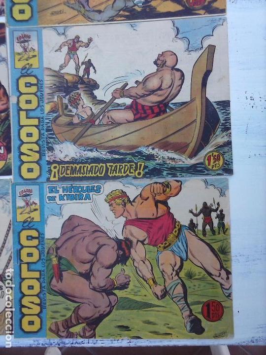 Tebeos: EL COLOSO DE RODAS ORIGINAL COMPLETA, LÓPEZ BLANCO DIBUJOS - VER TODAS LAS PORTADAS - Foto 116 - 94713939