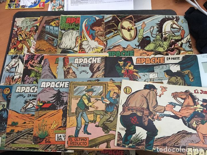 APACHE 2ª PARTE 29 EJEMPLARES INCLUIDO Nº 1 (ORIGINAL ED. MAGA) (COIB171) (Tebeos y Comics - Maga - Apache)