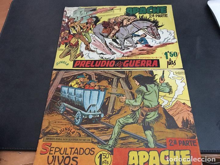 Tebeos: APACHE 2ª PARTE 29 EJEMPLARES INCLUIDO Nº 1 (ORIGINAL ED. MAGA) (COIB171) - Foto 2 - 94744639