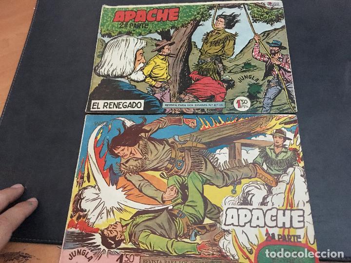 Tebeos: APACHE 2ª PARTE 29 EJEMPLARES INCLUIDO Nº 1 (ORIGINAL ED. MAGA) (COIB171) - Foto 3 - 94744639