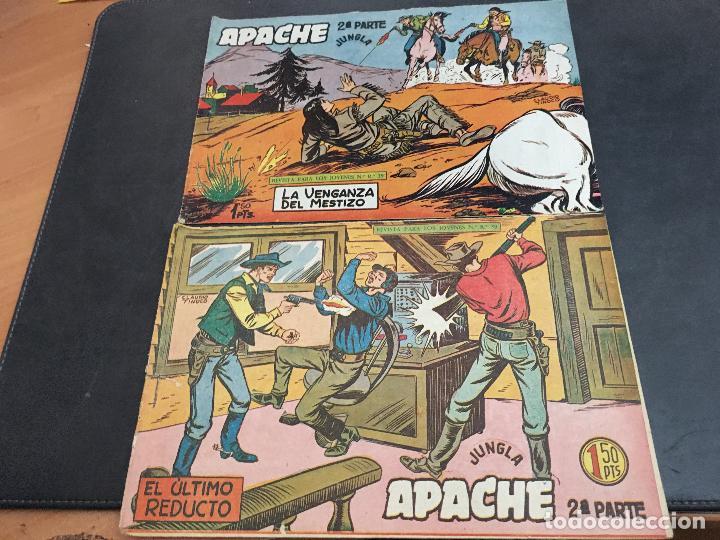 Tebeos: APACHE 2ª PARTE 29 EJEMPLARES INCLUIDO Nº 1 (ORIGINAL ED. MAGA) (COIB171) - Foto 8 - 94744639