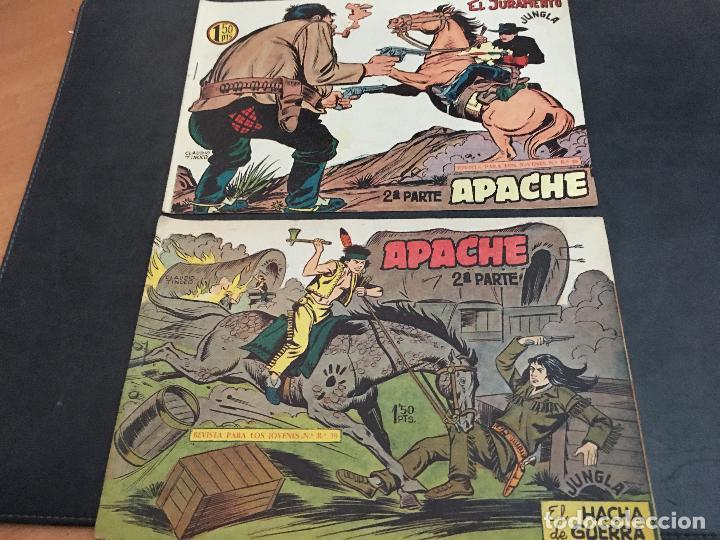 Tebeos: APACHE 2ª PARTE 29 EJEMPLARES INCLUIDO Nº 1 (ORIGINAL ED. MAGA) (COIB171) - Foto 9 - 94744639