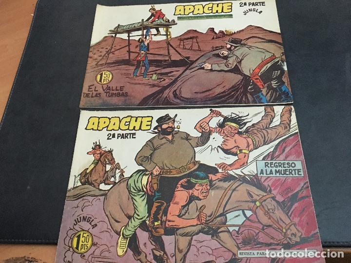 Tebeos: APACHE 2ª PARTE 29 EJEMPLARES INCLUIDO Nº 1 (ORIGINAL ED. MAGA) (COIB171) - Foto 10 - 94744639