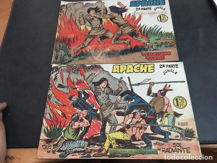 Tebeos: APACHE 2ª PARTE 29 EJEMPLARES INCLUIDO Nº 1 (ORIGINAL ED. MAGA) (COIB171) - Foto 12 - 94744639