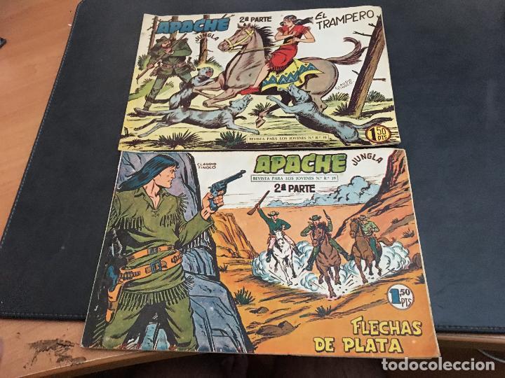 Tebeos: APACHE 2ª PARTE 29 EJEMPLARES INCLUIDO Nº 1 (ORIGINAL ED. MAGA) (COIB171) - Foto 15 - 94744639
