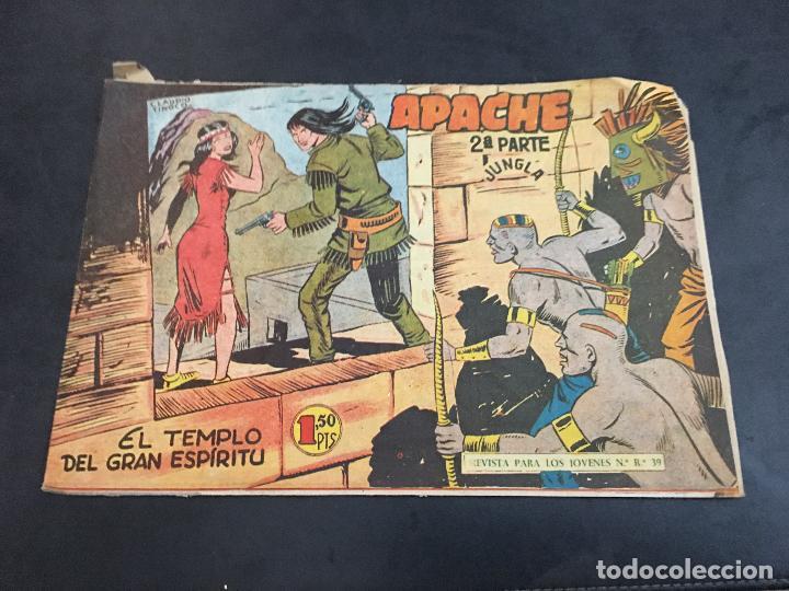 Tebeos: APACHE 2ª PARTE 29 EJEMPLARES INCLUIDO Nº 1 (ORIGINAL ED. MAGA) (COIB171) - Foto 16 - 94744639