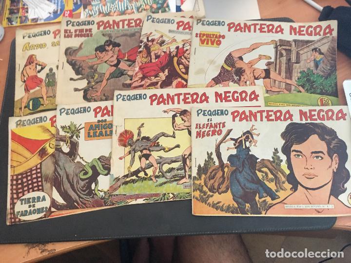 PEQUEÑO PANTERA NEGRA LOTE 28 EJEMPLARES (ORIGINAL ED. MAGA) (COIB172) (Tebeos y Comics - Maga - Pantera Negra)