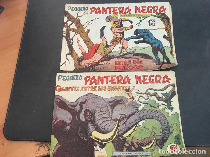 Tebeos: PEQUEÑO PANTERA NEGRA LOTE 28 EJEMPLARES (ORIGINAL ED. MAGA) (COIB172) - Foto 7 - 94815771