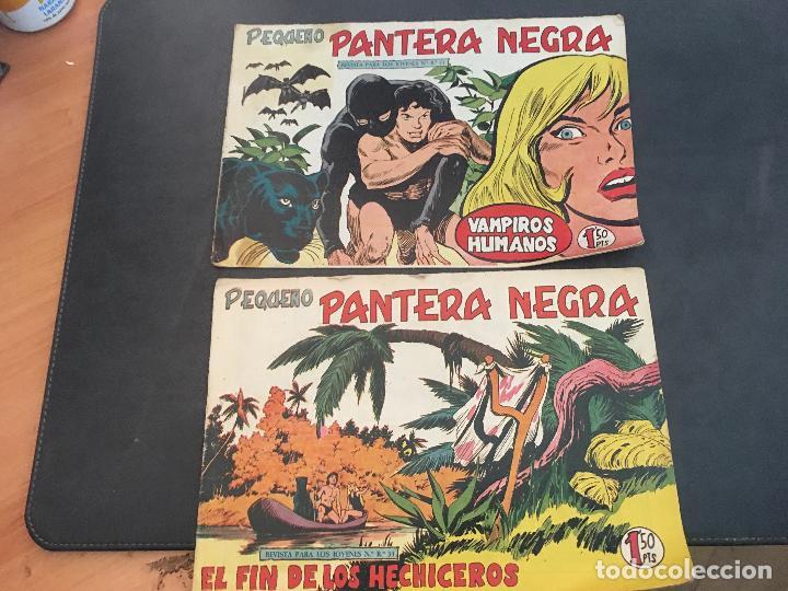 Tebeos: PEQUEÑO PANTERA NEGRA LOTE 28 EJEMPLARES (ORIGINAL ED. MAGA) (COIB172) - Foto 9 - 94815771