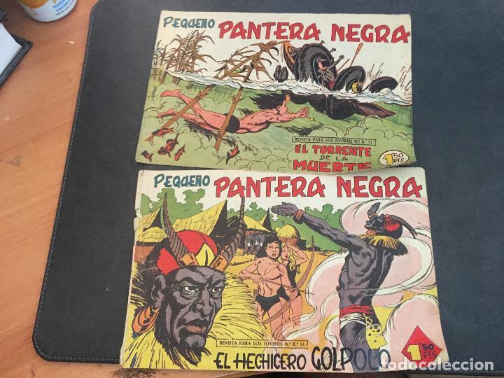 Tebeos: PEQUEÑO PANTERA NEGRA LOTE 28 EJEMPLARES (ORIGINAL ED. MAGA) (COIB172) - Foto 10 - 94815771