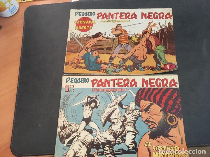 Tebeos: PEQUEÑO PANTERA NEGRA LOTE 28 EJEMPLARES (ORIGINAL ED. MAGA) (COIB172) - Foto 12 - 94815771