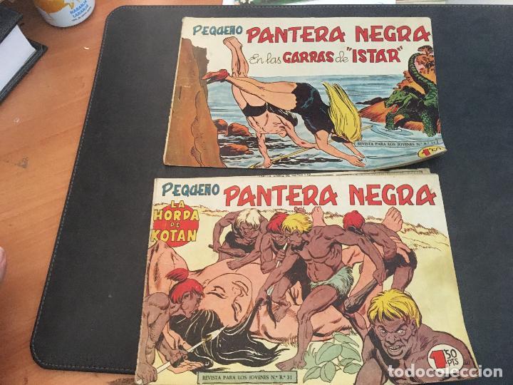 Tebeos: PEQUEÑO PANTERA NEGRA LOTE 28 EJEMPLARES (ORIGINAL ED. MAGA) (COIB172) - Foto 13 - 94815771