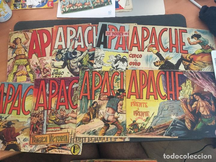 APACHE PRIMERA PARTE COLECCION COMPLETA (ORIGINAL ED. MAGA) (COIB172) (Tebeos y Comics - Maga - Apache)