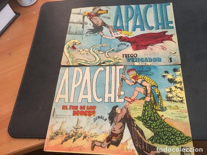 Tebeos: APACHE PRIMERA PARTE COLECCION COMPLETA (ORIGINAL ED. MAGA) (COIB172) - Foto 4 - 94825663