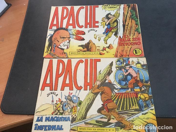 Tebeos: APACHE PRIMERA PARTE COLECCION COMPLETA (ORIGINAL ED. MAGA) (COIB172) - Foto 8 - 94825663