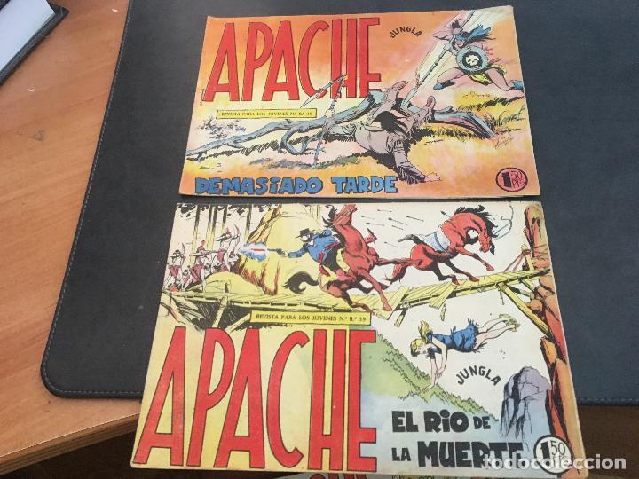 Tebeos: APACHE PRIMERA PARTE COLECCION COMPLETA (ORIGINAL ED. MAGA) (COIB172) - Foto 9 - 94825663