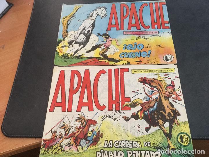 Tebeos: APACHE PRIMERA PARTE COLECCION COMPLETA (ORIGINAL ED. MAGA) (COIB172) - Foto 10 - 94825663