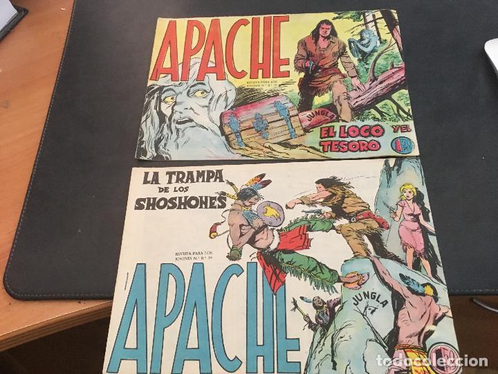 Tebeos: APACHE PRIMERA PARTE COLECCION COMPLETA (ORIGINAL ED. MAGA) (COIB172) - Foto 12 - 94825663