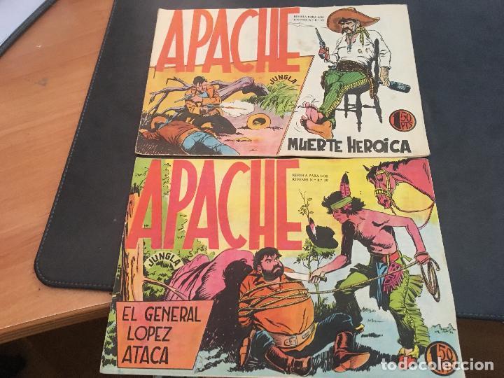 Tebeos: APACHE PRIMERA PARTE COLECCION COMPLETA (ORIGINAL ED. MAGA) (COIB172) - Foto 18 - 94825663