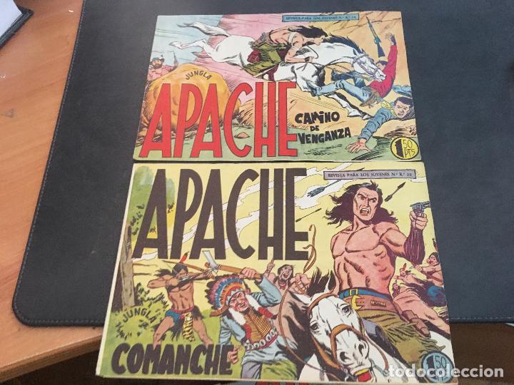 Tebeos: APACHE PRIMERA PARTE COLECCION COMPLETA (ORIGINAL ED. MAGA) (COIB172) - Foto 20 - 94825663