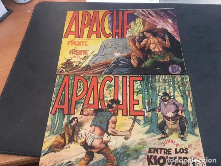 Tebeos: APACHE PRIMERA PARTE COLECCION COMPLETA (ORIGINAL ED. MAGA) (COIB172) - Foto 26 - 94825663