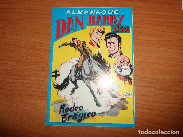 DAN BARRY EL TERREMOTO ALMANAQUE 1956 EDITORIAL MAGA FACSIMIL (Tebeos y Comics - Maga - Dan Barry)