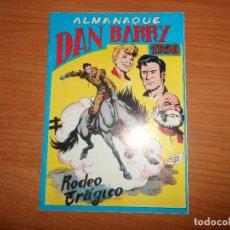 Tebeos: DAN BARRY EL TERREMOTO ALMANAQUE 1956 EDITORIAL MAGA FACSIMIL. Lote 94868023