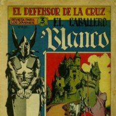 Tebeos: EL DEFENSOR DE LA CRUZ (EL CABALLERO BLANCO) (NÚMEROS DEL 1 AL 20) (ORIGINAL-1964). Lote 95600191