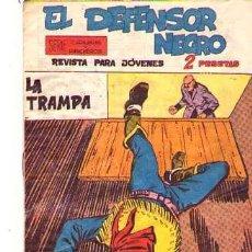 Tebeos: EL DEFENSOR NEGRO (MAGA) Nº 31. Lote 95667027