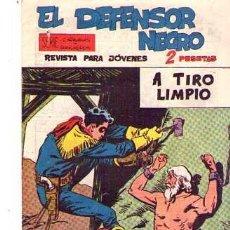 Tebeos: EL DEFENSOR NEGRO (MAGA) Nº 32. Lote 95667115